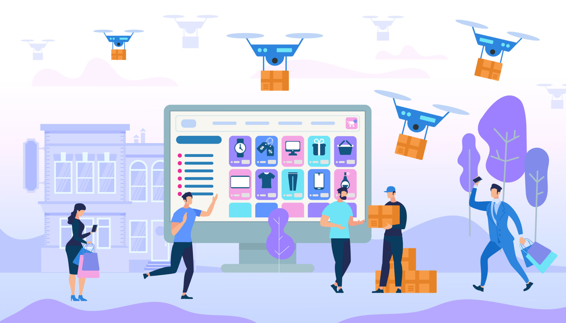 E-commerce delivery and innovation